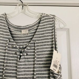 NWT a new day Gray Tank Top